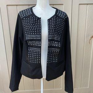 NWOT! Torrid Metal Embellished Jacket!